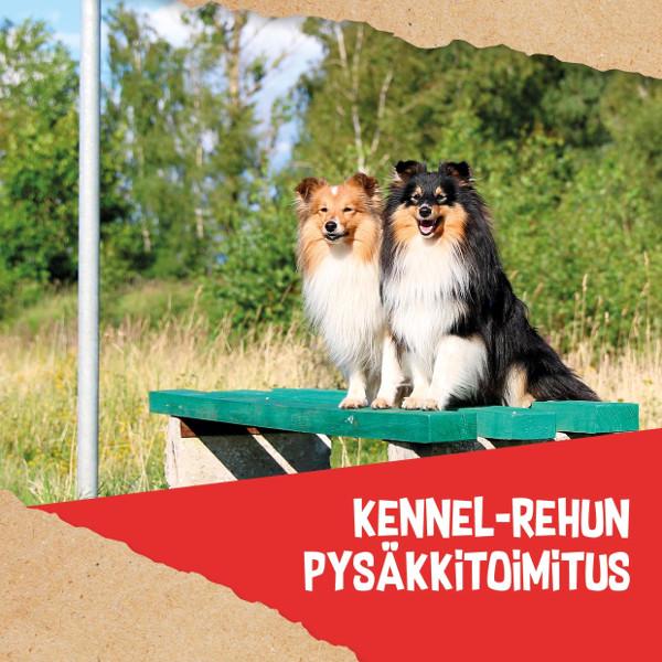 Kennel-Rehun pysäkkitoimitus